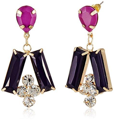 Funky Fish Drop Earrings for Women (Multicolor) (I-637_C7297473288377)