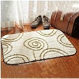 Cotton mats door mats bedroom absorbent pad in the foyer bathroom and kitchen non-slip mat 60x90cm