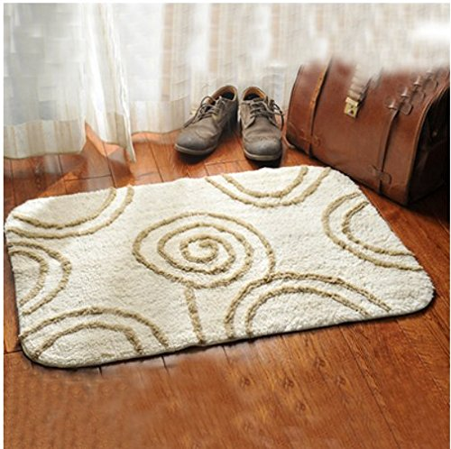 Cotton mats door mats bedroom absorbent pad in the foyer bathroom and kitchen non-slip mat 60x90cm by ZYZX