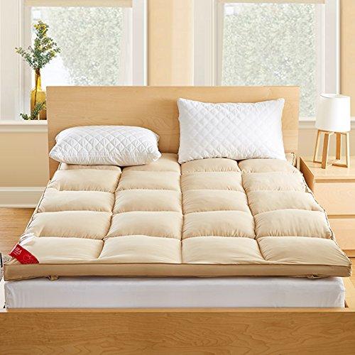JL&LU Down Plaid Mattress,Tatami Foldable Sleeping Pad Double Luxury 1.5m 1.8m Bed Mat-A 120x200cm(47x79inch) by JL&LU