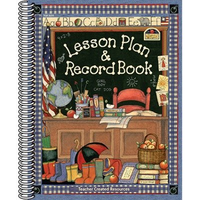 SCBTCR3250-5 - SW LESSON PLAN AND RECORD BOOK pack of 5