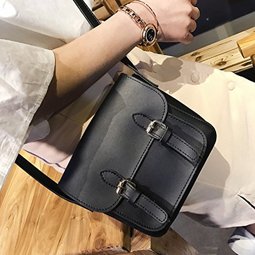 Frühling und Sommer neue Handtaschen Koreanischen Kollegs wind retro Frauen Umhängetasche lady Schulter Kuriertasche green P7yS5t
