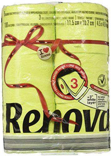 (Renova Red Label Maxi Toilet Paper, Green)