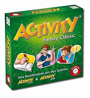 Piatnik 9001890605079 - Actividad Family Clásico Juego De Mesa
