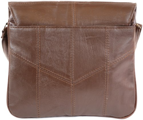 Soft Bag Ladies Body Black Super Brown Dark Bag Brown Tan Nappa Shoulder Cross Leather S845qw8Fx