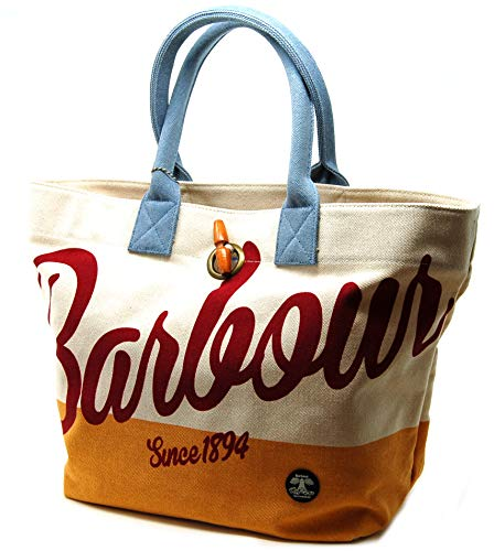 Tote Canvas Toggle Barbour Shingle Bag with Closure Shopper wP8aq8x