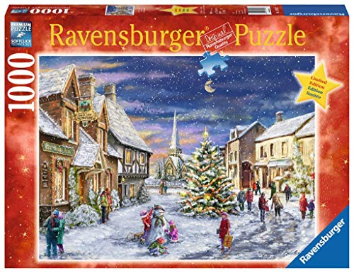 Christmas Village Limited Edition Ravensburger 1000 Piece Xmas Jigsaw Puzzle by Artist Marcello Corti
