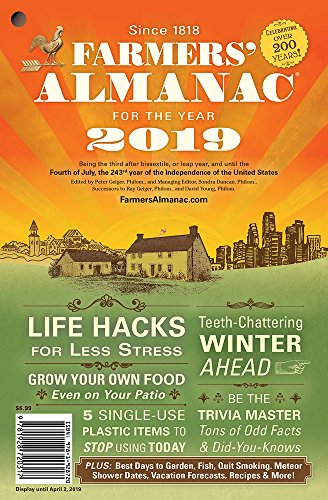 2019 Farmers' Almanac by [Geiger, Peter]