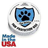 Dog Paw Protection Wax Nontoxic Hypoallergenic Keep Pet Paws Healthy Year Round