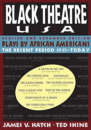 Books : Black Theatre, USA: Plays by African Americans: The Recent Period, 1935-Today