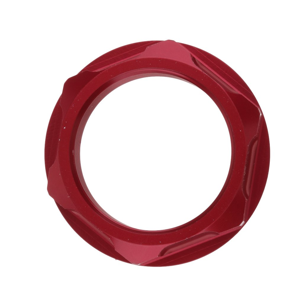 MagiDeal Durable CNC Stainless Steel Steering Stem Nut Bolt for Honda CR125R//250R CRF450X Red