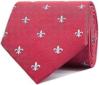 SoloGemelos Uomo Cravatta Fiore Di Lis