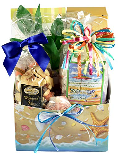 Florida Beach Themed Gift Box With The Tropical Flavors That Visitors Crave