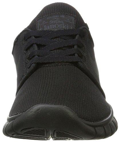 Skateboarding black De black Zapatillas Max Janoski Black Nike Stefan anthracite Niños Para Negro q71wgXq