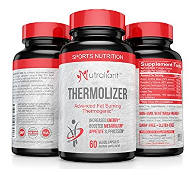 #1 Thermogenic Fat Burner, Carb Blocker + Appetite Suppressant Diet Pills that Work Fast for Men & Women To Lose - Garcinia Cambogia, Green Coffee, Raspberry Ketones & Caffeine Weight Loss Supplement