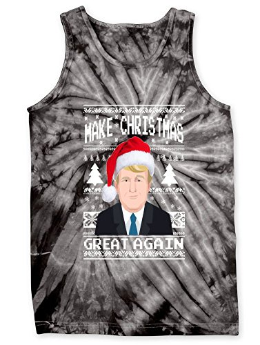 Tank Tie-Dye: Make Christmas Great Again