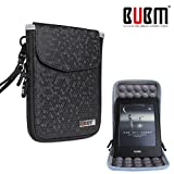 BUBM 2018 Newest Kindle Bag For Kindle voyage / Kindle All versions 6'' Inch - PU Leather Case Cover,also used as stander and holder, Protective Shockproof Felt Stand - Black