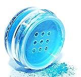 Pure Ziva Beautiful Deep Turquoise Blue Teal Loose Powder Mineral Glitter Eye Shadow