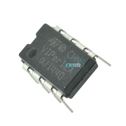 10PCS VIPER12 VIPER12A VIPER12A DIP SMPS Primary Switcher IC ST DIP8