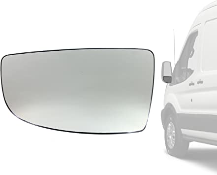 BLIND SPOT GLASS LEFT//NEAR SIDE WING MIRROR UPPER
