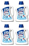 Lysol Laundry RKIMq Sanitizer Additive, Crisp Linen, 90 Ounce (4 Pack)