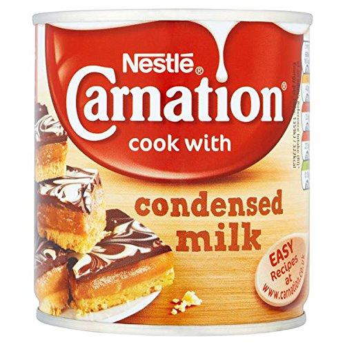 Carnation edulcorada 397g leche condensada (Pack de 12 x 397g)