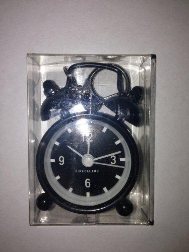 Kikkerland Mini Bell Alarm Clock Key Chain, 1 EA
