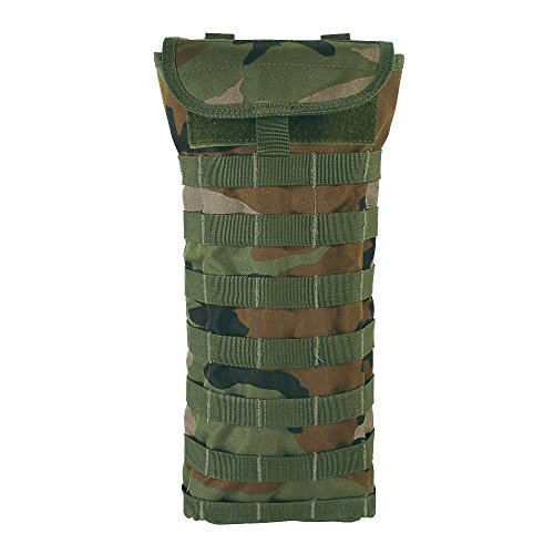 Digital Hydration Pack - VooDoo Tactical Men's Hydration Carrier Removable Harness, Woodland Camo