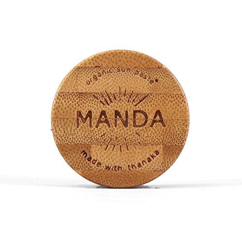 MANDA Organic Sun Paste - SPF 50 Sunscreen - 15g