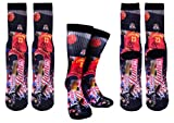 Forever Fanatics Cleveland Lebron James #23 Basketball Crew Socks ✓ Lebron James Autographed ✓ One Size Fits All Sizes 6-13 ✓ Ultimate Basketball Fan Gift (Size 6-13, James #23)