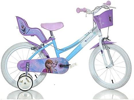 Bici Frozen/bici 16/bici Bimba/bici da Bambina: Amazon.es ...