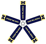 University of Michigan Wolverines Ceiling Fan Blade Covers