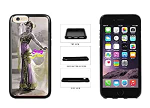 Bollywood Dancer Stay Free TPU RUBBER Phone Case Back Cover Apple iPhone 6 Plus (5.5 Inches)
