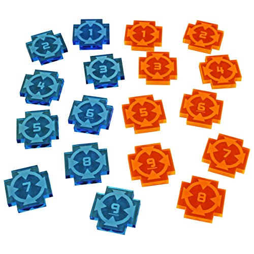 Target Lock Token Set #1-9 - Lock Target
