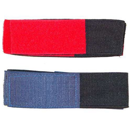 A&R Sports Shin Straps, Senior, Black -