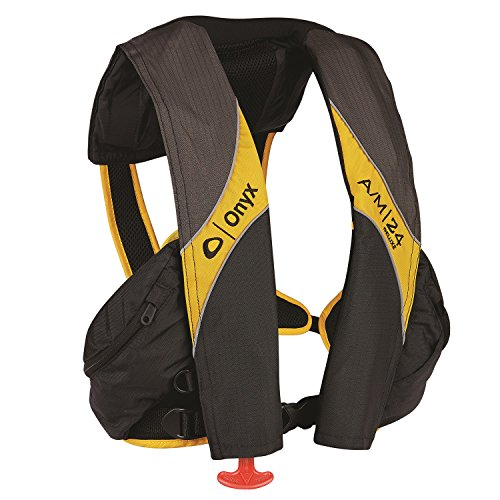 Inflatable Pfd Life Jacket - Onyx A/M-24 Deluxe Automatic Manual Inflatable Life Jacket
