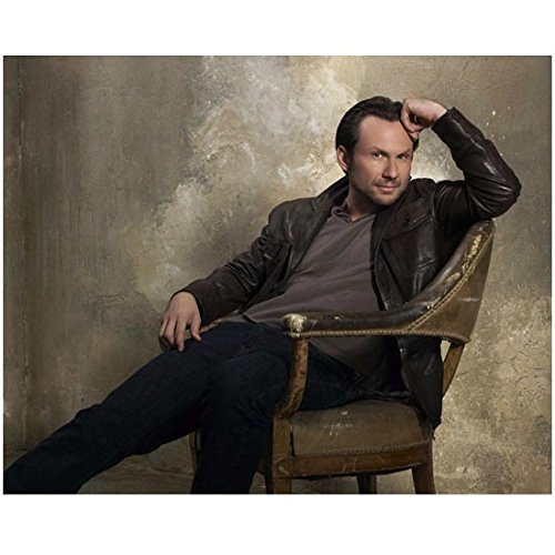 Christian Slater all in leather 8 x 10 Inch (Slater Leather)
