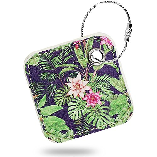Case Compatible Tile Mate - Key Finder. Phone Finder. Anything Finder. Tile Mate Case Cover with Keychain. Tile Mate Skin PU Leather Protection -Fern