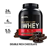 Health & Personal Care : Optimum Nutrition Gold Standard 100% Whey Protein Powder, Double Rich Chocolate, 5 Lb (Packaging May Vary)