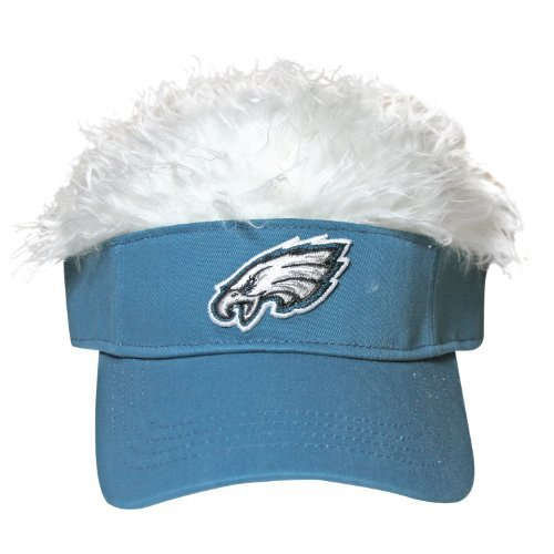 0f515eb6aa1 Philadelphia Eagles Flair Hair Visor – Football Theme Hats