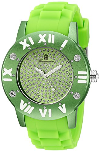 Burgmeister Women's BM165-090B Silicone Magic Analog Watch