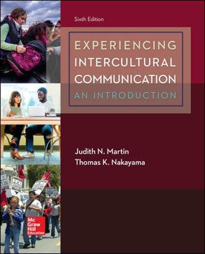 1259870561 - Experiencing Intercultural Communication: An Introduction