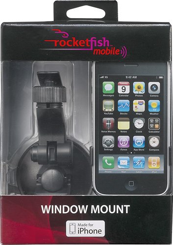 Rocketfish Mobile - Window Mount for Apple iPhone