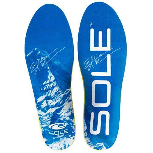 (SOLE Performance Thick High Volume Footbed Insoles, Mens Size 5 / Womens Size 7)