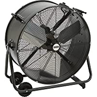 Bannon Tilting Enclosed Motor Direct Drive Drum Fan - 24in., 7195 CFM