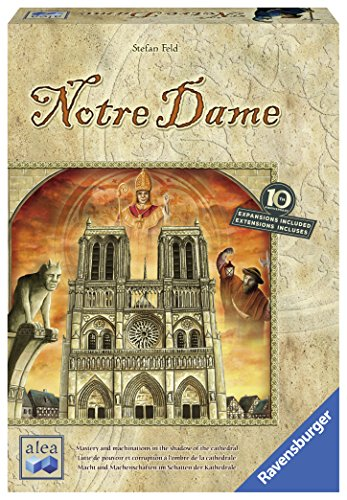 Dame Game Notre - Ravensburger Notre Dame: 10th Anniversary Edition Strategy Board Game