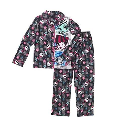 Monster High Two Piece Pajama Sleep Set Big Girls Medium (7/8)