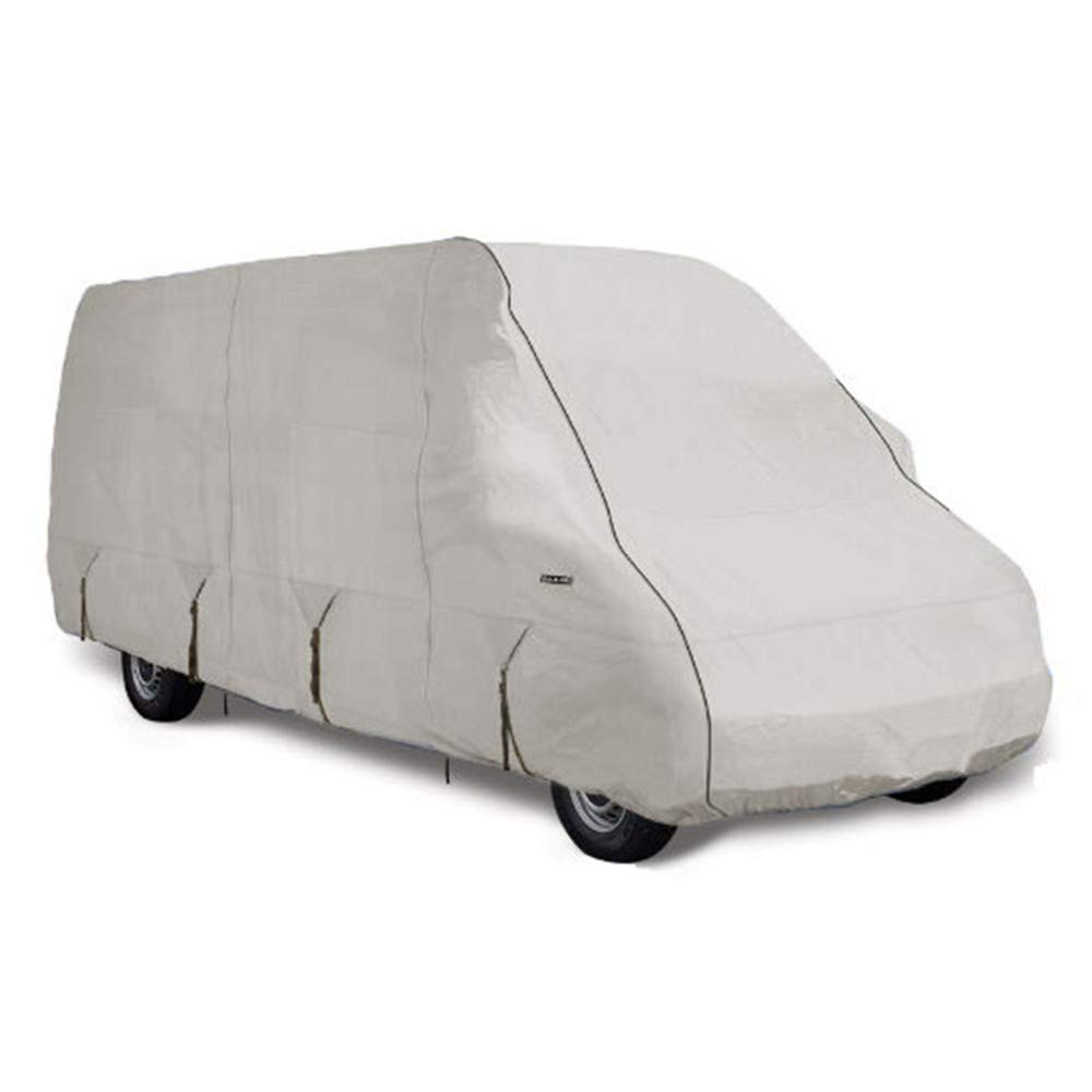 Goldline Class B RV Cover by Eevelle | Waterproof Fabric | Tan and Gray