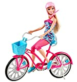 Barbie Fab Life Doll and Bike by Mattel