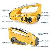 Dynamo Crank Radio, Adv-one Solar Power USB
